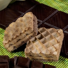 Wafer iperproteico cioccolato Fase 1 low carb - Gaufrette Chocolat low carb