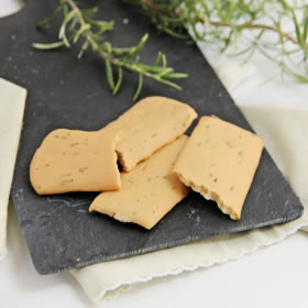 Crackers al Rosmarino - Crackers au Romarin