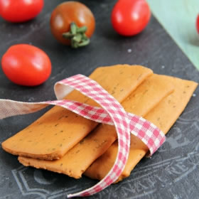 Crackers pomodoro e origano - Crackers tomate origan