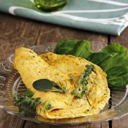 Omelette alle erbette provenzali