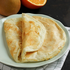 Crepes arancia - Crêpe orange