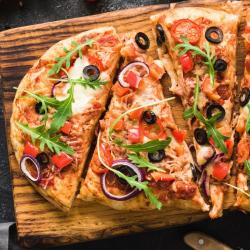 Impasto per pizza formato grande