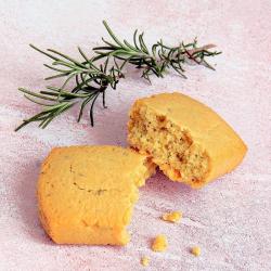 Biscotto salato al formaggio di Capra e Rosmarino