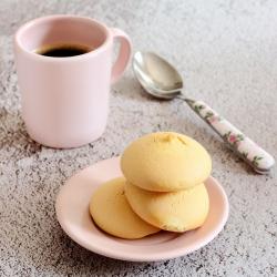 Biscotti rotondi alla vaniglia