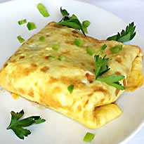 Omelette proteica alle erbe aromatiche  Omelette aux Fines Herbes